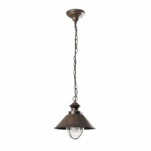 NÁUTICA-1P Lampe suspension rouille