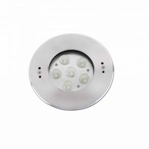 EDEL LED Lampe encastrable gris