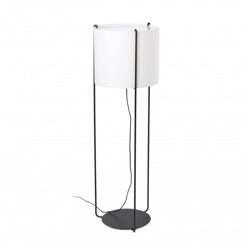 DRUM Structure lampadaire noir