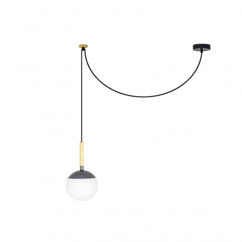 MINE Lampe Suspension gris foncé PC