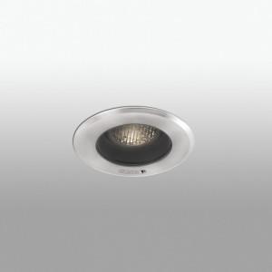 GEISER LED Plafonnier encastrable orientable gris