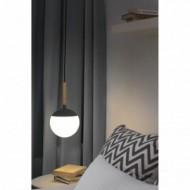 MINE Lampe suspension grise