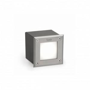 LED-18 Lampe encastrable carré inox 3000K