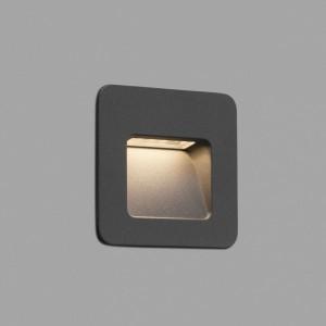 NASE-1 LED Lampe encastable gris foncé
