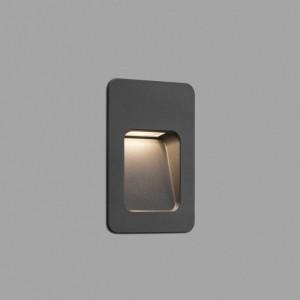 NASE-2 LED Lampe encastable gris foncé