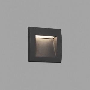 SEDNA-1 LED Lampe encastrable gris foncé