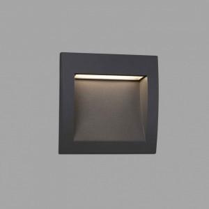 SEDNA-3 LED Lampe encastrable gris foncé