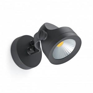 ALFA LED Lampe projecteur gris foncé