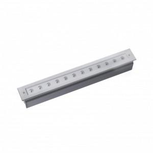 GRAVA LED Lampe encastrable inox 22W