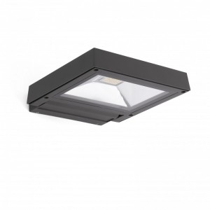 KARL LED Lampe projecteur gris foncé