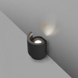 NOBORU LED Projecteur/lèche-mur gris foncé