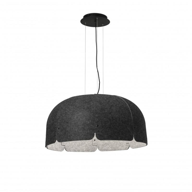 MUTE LED Lampe suspension gris foncé 4000K