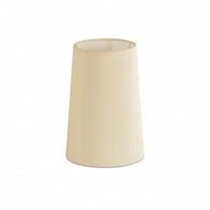 Abat-jour en textile beige ø165×240