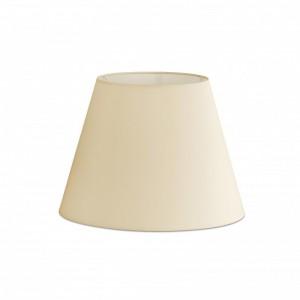Abat-jour en textile beige ø270×200