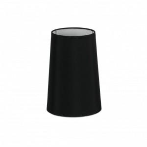 Abat-jour en textile noire ø165×240