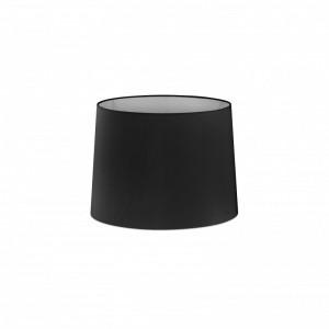 Abat-jour en textile noire ø215×160