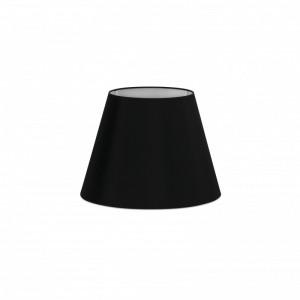 Abat-jour en textile noire ø220×160