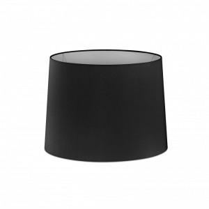 Abat-jour en textile noire ø250×200