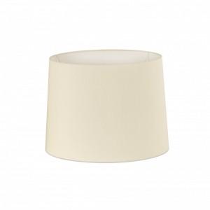 Abat-jour en textile blanche ø250×200