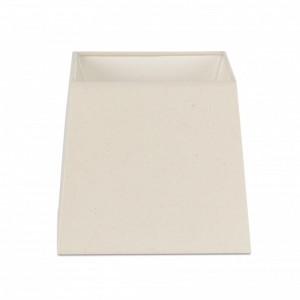 Abat-jour en textile blanche ø320×300