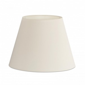 Abat-jour en textile blanche ø400×290