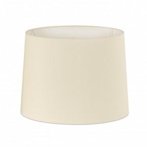 Abat-jour en textile blanche ø400×300