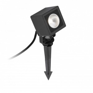 SOBEK LED Projecteur avec piquet noire
