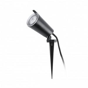 TONI Lampe applique avec piquet noir