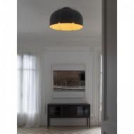 MUTE LED Lampe suspension marron et gris foncé 4000K