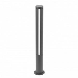 GROP-1 LED Lampe balise gris foncé h75cm