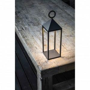 ARGUS LED Lampe portable gris foncé