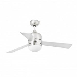 CEBU Ventilateur de plafond nickel mat