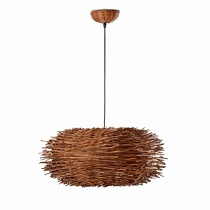 NIDO Lampe suspension marron