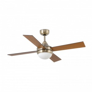 ICARIA Ventilateur de plafond or vieil