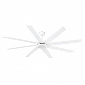 CENTURY LED Ventilateur de plafond blanc avec moteur DC