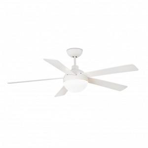 IZARO LED Ventilateur de plafond blanche avec moteur DC