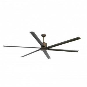 ANDROS Ventilateur de plafond marron avec moteur DC