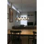 PAULINE LED Lampe suspension bois