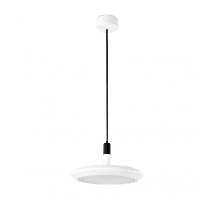 PLANET LED Lampe suspension blanche