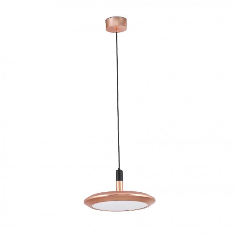 PLANET LED Lampe suspension cuivre