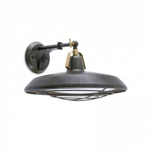 PLEC LED Lampe applique marron vieilli