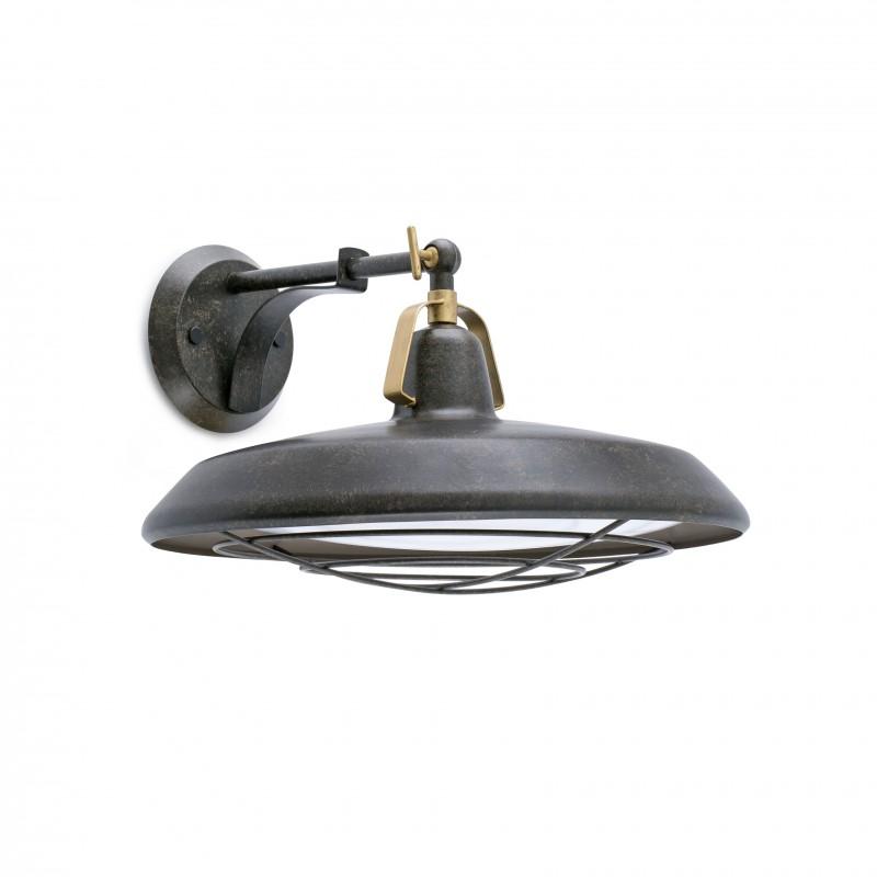 PLEC LED Lampe applique marron vieilli