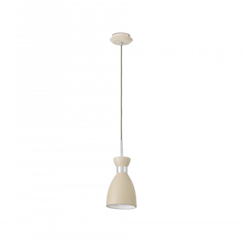 RETRO Lampe suspension beige