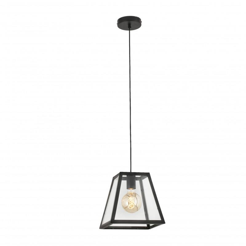 ROSE-1 Lampe suspension noir