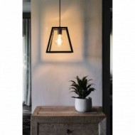 ROSE-1 Lampe suspension noir