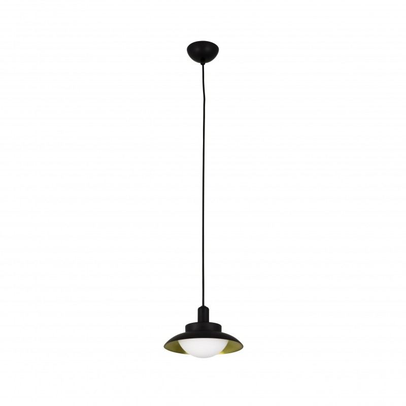 SIDE LED Suspension noir et or G9