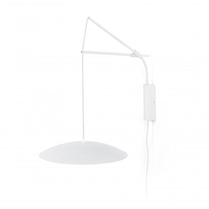 SLIM LED Lampe applique extensible blanche